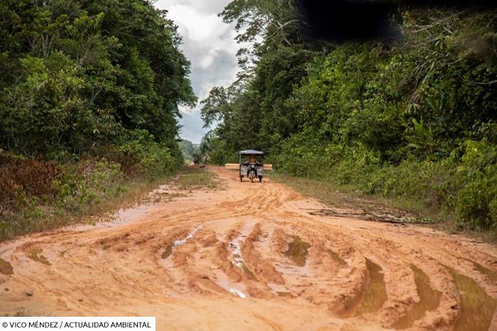 Carretera Jenaro Herrera- Colonia Angamos, Loreto