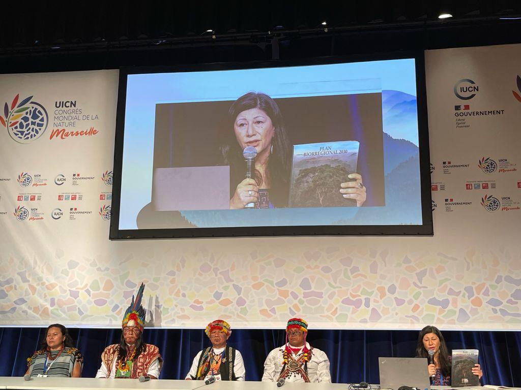 Rueda de Prensa ICS en UICN-Marsella